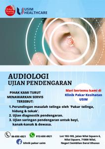 Audiologi - Ujian pendengaran